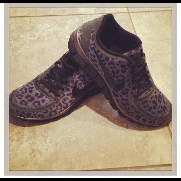d607ba509570 Nike Shoes - Women s Nike free 5.0 v4 Leopard gray black shoes