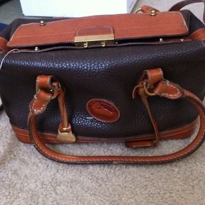 AUTHENTIC Dooney & Bourke in BROWN