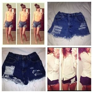 Denim - Bundle 💕 for Emma! High Waist Shorts!