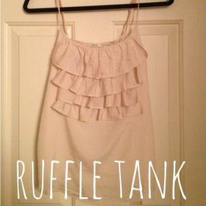 Tops - 💖 Rose Ruffle Tank 💖