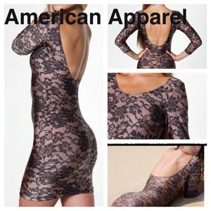 AMERICAN APPAREL DRESS