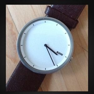 Alessi Jewelry - Alessi Unisex Watch, oh so clean lines with tags!