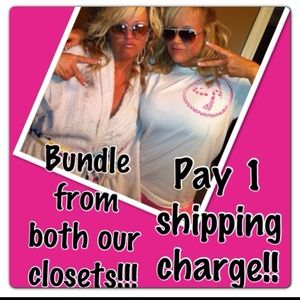 Bundle from 2  sellers closets to SAVE on shipping