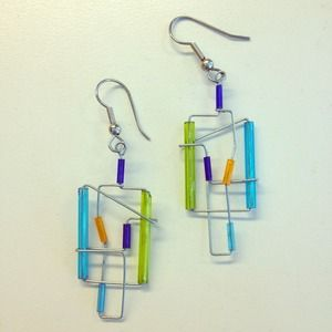 hand made Jewelry - Hand Wired Earrings