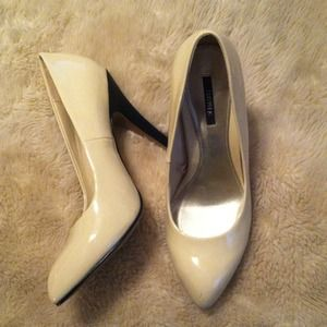*RESERVED for CHRISTIOH!* Forever 21 patent heels!