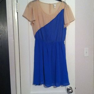 Fun pleated Forever 21 dress!
