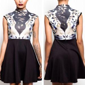 Scuba tiger dress