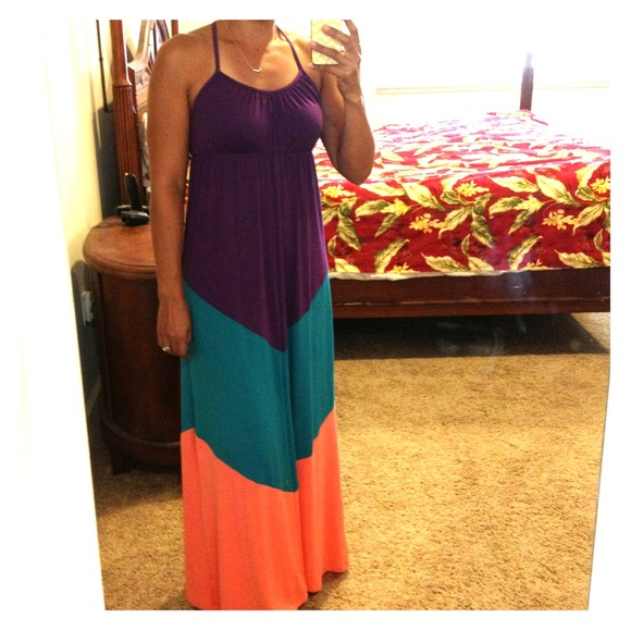 mossimo - 📍SALE! Chevron maxi dress from Diane&39s closet on Poshmark
