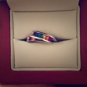 Jewelry - Rainbow colored ring