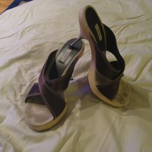 Original Prada Alzature Donna slide pumps