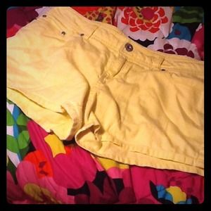 So Pants - ⛄️❄️SHORTS 2/$8 yellow so shorts REDUCED⬇⬇
