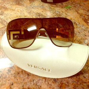 Versace brown/gold sunglasses