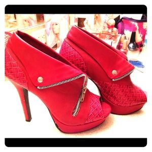 Hot Red Qupid Heels