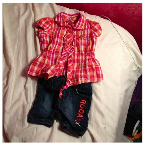 Roca wear other baby girl clothes from newborn to months poshmark jpg  580x580 Rocawear dress wear 7049ae380
