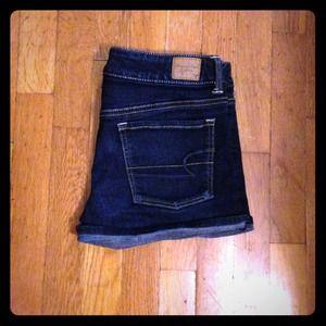 ❌✔ TRADED! American Eagle denim shorts