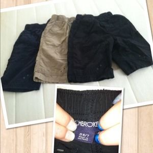 Other - ****SOLD*** Bundle of 3 Boys size 6/7 shorts.
