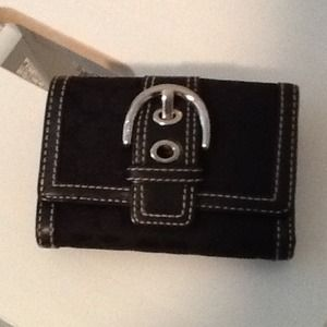 Reduced! Coach, trifold wallet.  Authentic.