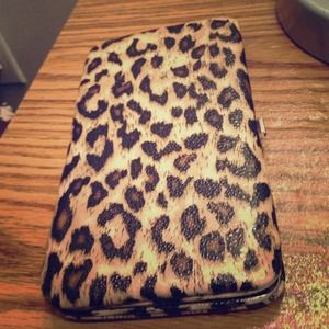 Cheetah print clutch wallet for sale