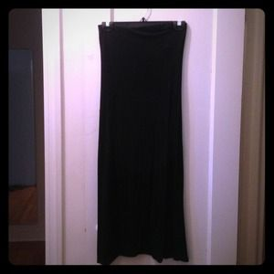 Benetton stretch black dress.