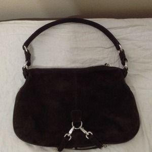 pink leather prada - 33% off Prada Handbags - Miu Miu brown suede waist bag from Emma's ...