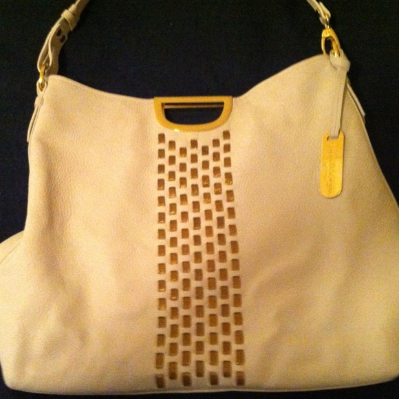 85% off Handbags - White Emma & Sophia hobo bag. from Kristen's ...