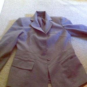 Anne klein Sophisticated grey blazer