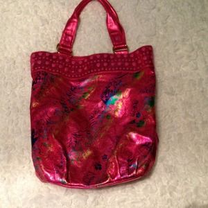 Ed hardy beach bag/purse