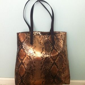 Limited Python tote. NWT. Beautiful!!