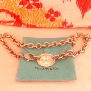 Tiffany Co. Tag necklace