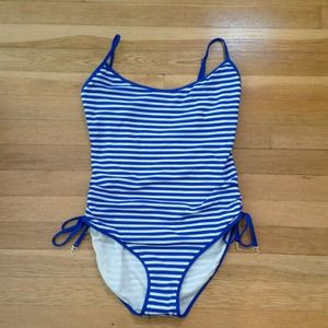 *Reduced* Juicy Couture striped one piece swimsuit