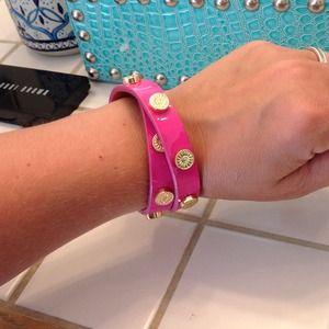 💝SALE💝 9X HP! Pink Tory Burch Wrap Bracelet