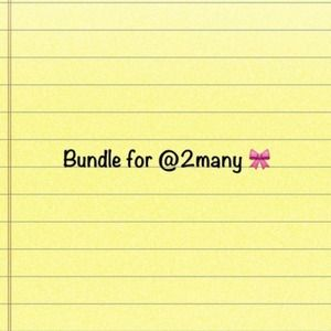 Handbags - Bundle for @2many 🎀