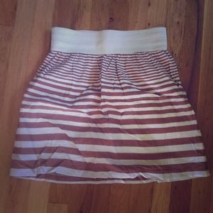 Lowered price STRIPED SKIRT
