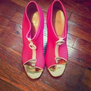 Pink Christian Louboutin Sandals