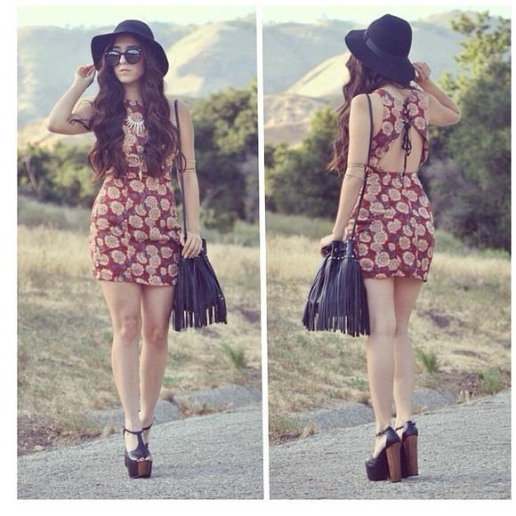 Open back Sunflower Dress