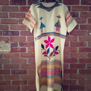 Amazing vintage wool dress