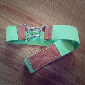 Banana Republic Lime Belt - Worn once