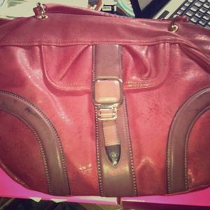 Shoe dazzle red handbag brand new