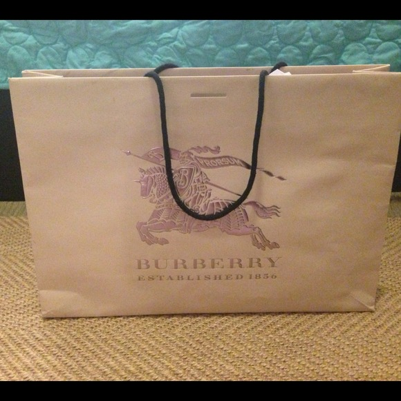 Burberry - Burberry shopping bag on SALE from D's closet on Poshmark