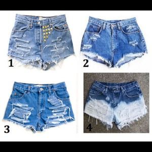 Custom High Waisted Shorts!