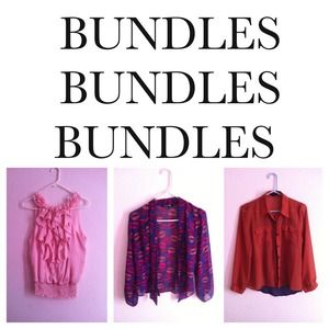CREATE YOUR OWN BUNDLE! Get free shipping!