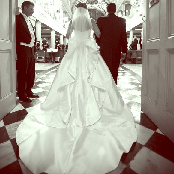 Tricia Nixon Wedding Gown: Jewel By Priscilla Of Boston