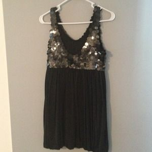 Alice + Olivia sequined top dress