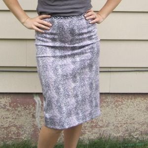 Searle NYC Dresses & Skirts - SOLD-Bundled-Snake Skin Patterned Pink Skirt