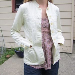 DKNY Jackets & Blazers - SOLD-Bundled-Cream Jacket