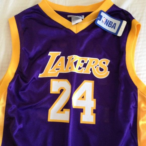LAKERS Kobe Bryant mesh jersey  NEW  ba7588a12