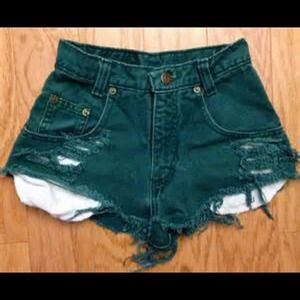 High waisted vintage gap shorts