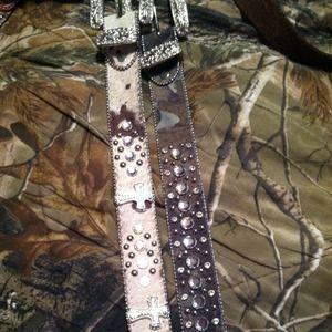 Accessories - 2 western belt bundle