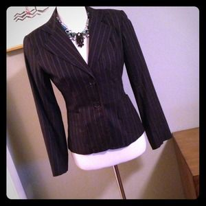 Cynthia Vincent Striped jacket