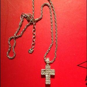 Jewelry swarovski crystal cross necklace poshmark jewelry swarovski crystal cross necklace aloadofball Choice Image